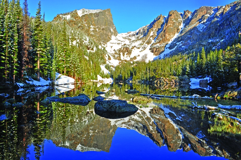 Dream Lake in Spring